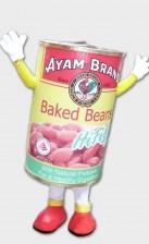 Baked Bean Canned Mascots Customisation, Mascots Customization
