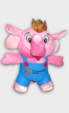 sharity elephant plush toy customisation