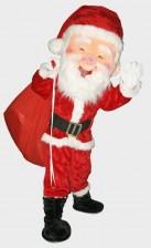 Santa Claus mascots for rental