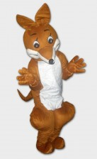 Fox mascots for rental