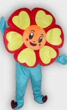 Sun Flower Mascot