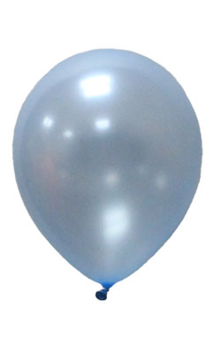 Pearlised Latex Color Balloons - Airforce Blue