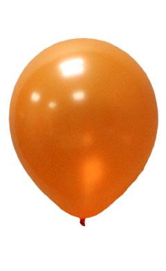 Pearlised Latex Color Balloons - Orange